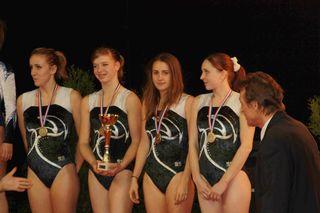 Dn1 filles médaillées