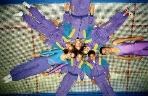 Equipe compétition Le Pecq 1991/92