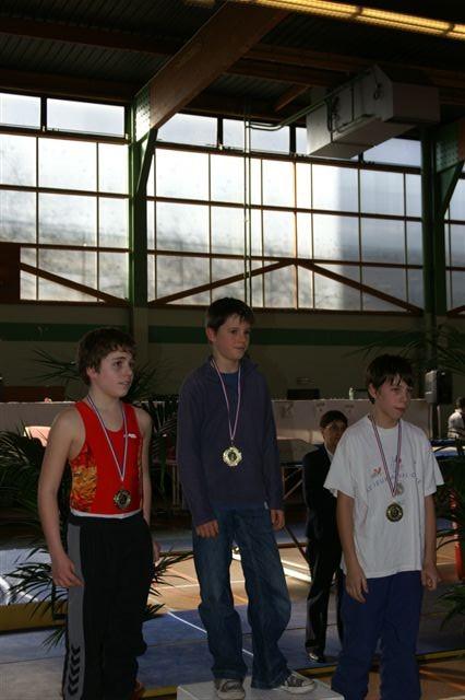 Coupe 92 Paul médaille d'or!!!