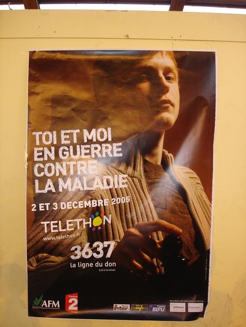 L'affiche Téléthon 2005